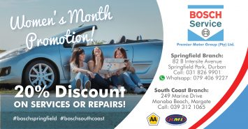 Bosch Service Centre - women's month 2019 ad-01